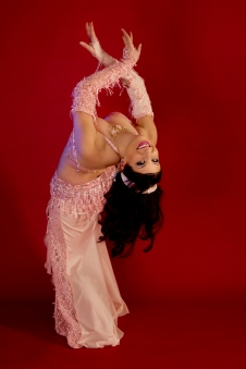 Nefabit Pink Backbend photo by Dirk Linton