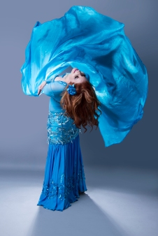 Nefabit Bellydance Photo by John Austin