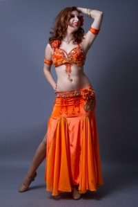 Nefabit Professional Bellydancer Spokane by John Austin