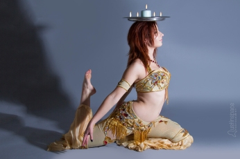 Nefabit Candle Tray Bellydance Photo by John Austin