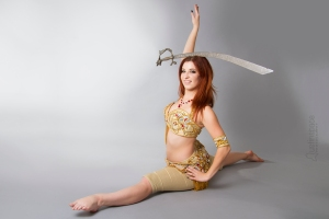 Nefabit bellydance sword balaning Spokane Washington Idaho