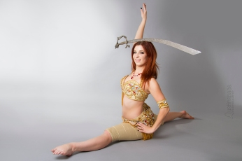 Nefabit Sword Balancing Photo by John Austin