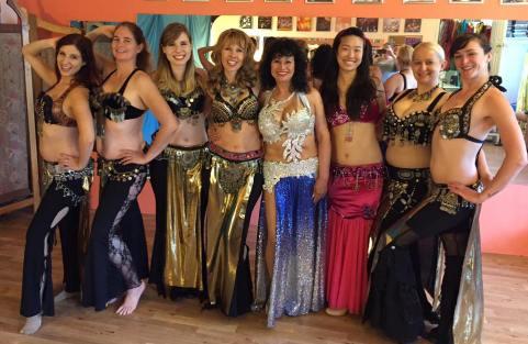 Dress rehearsal for Arabesque 2017