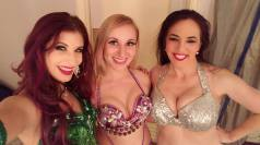 With Celadon and Stephanie backstage at the Reserve! Celadon is on her way to dance in China, good luck lady!